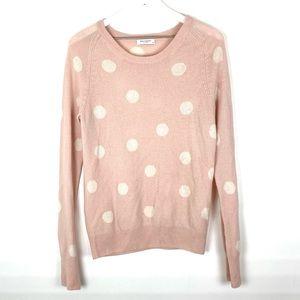Equipment Femme Sloane Polka Dot Cashmere Sweater